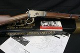 NIB 1983 made Browning B 92 Lever 357 Magnum Factory Fired Complete Package