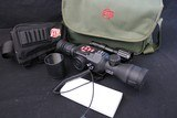 Factory new X-Sight II HD Smart Day/Night sight w/ rangefind, ballistics calculator and MORE!!!! Plus additional Items
