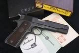1968 ANIB Colt 1911 A1 Pre 70 Series Commercial 38 Super Original Factory Finish Collectors Grade