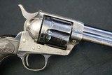 Rare 1st Gen Colt Single Action Army Factory Long Flute 38 WCF 38-40 w/ Letter High Condition Original