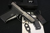 HK P7 M8 9mm Squeeze Cock Box, manual, 2 factory mags made 1986