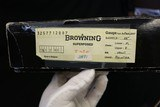 1983 Dual Signed Belgium Browning Superlite Pointer Grade 410 Factory Fired 28 inch Boxed - 21 of 21
