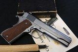 Original High Condition 1929 Pre-War 3 Digit SN Colt 1911 A1 38 Super in the Box