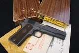 (Sold 11/4/2019) ANIB 1966 Colt 1911A1 38 Super High Condition Collectors Grade - 1 of 17