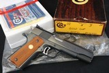 (Sold) 1986 Colt Gold Cup National Match 45 ACP Complete Package