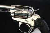1902 Colt Single Action Army Bisley 45LC 5.5 inch 1st Gen Nickel - 7 of 16