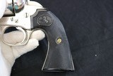 1902 Colt Single Action Army Bisley 45LC 5.5 inch 1st Gen Nickel - 15 of 16