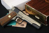 (Sold 10/8/2019) 1976 Colt 70 Series Government Flat Out New in the Box - 1 of 17