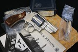 (Layaway 11/26/2019) 1980 Factory Fired Only ANIB Smith & Wesson 66-1 Combat Mag 357 Complete Package - 1 of 23