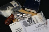 NIB Complete Package Lew Horton Smith & Wesson 624 Factory Fired With Holster