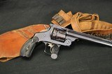 (sale pending) scare high original condition pre 1899 smith & wesson 44 double action frontier 44 40 with rig