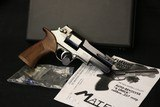 Highly Sought after Scarce Original Condition Mateba 6 Unica 357 Mag with Case, manual and Tools - 1 of 17