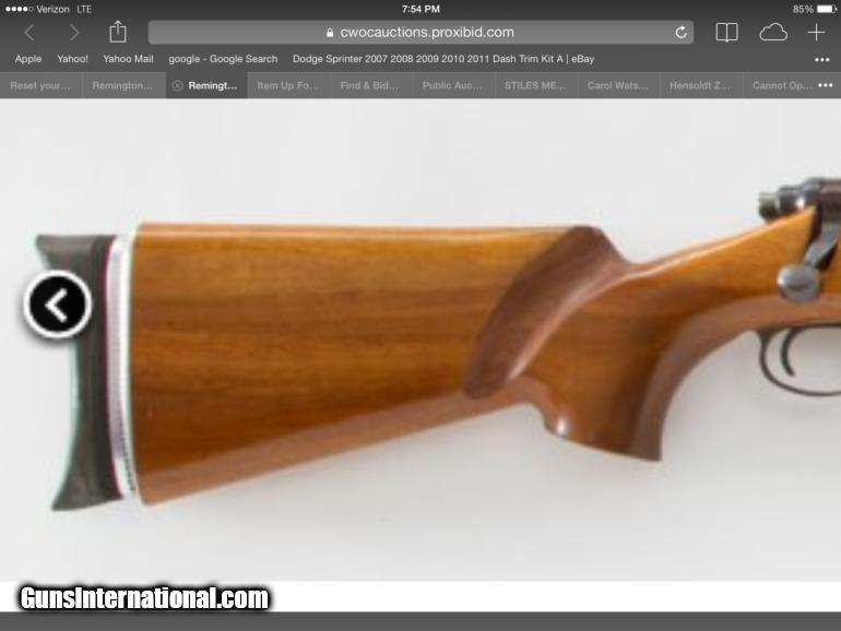 Remington 40 X Project Rifle