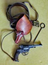 Russian 1895 Nagant Revolver Assemblage