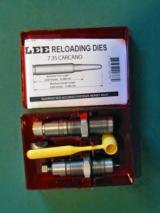 RCBS (7.65mm French MAS) and Lee (7.35mm Carcano, 8mm Lebel) Reloading Die sets