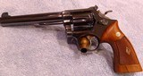"Smith & Wesson Model 14 - 6"" - 4 screw 1959