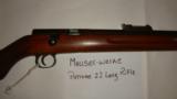 Mauser Werke. Patrone 22 Long Rifle. A-G Oberndorf A.N - 2 of 11