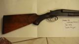 H.,Grade Lefever Arms Co. Double Trigger SxS 12 Gauge Patented 1872 S/N28818 - 3 of 11