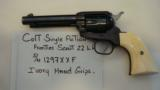 COLT SINGLE ACTION FRONTIER SCOUT 22 LR.-Colt P.T.F.A MFG Co. Hartford CT.USA - 1 of 12