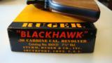 RUGER Blackhawk .30 Carbine - 3 of 12