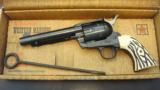 WESTERN MARSHAL SINGLE ACTION SIX REVOLVER-J.P SAUER & SONS for Hawes Mfg Co. - 1 of 12