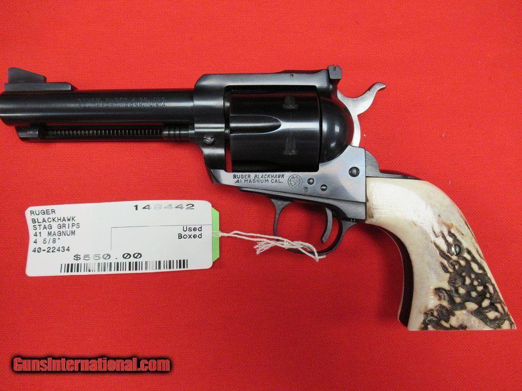 Ruger Blackhawk 41 Magnum 4 5/8