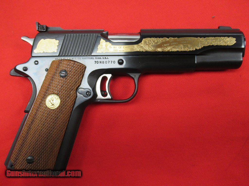 Colt Gold Cup National Match Series 70 45acp 5