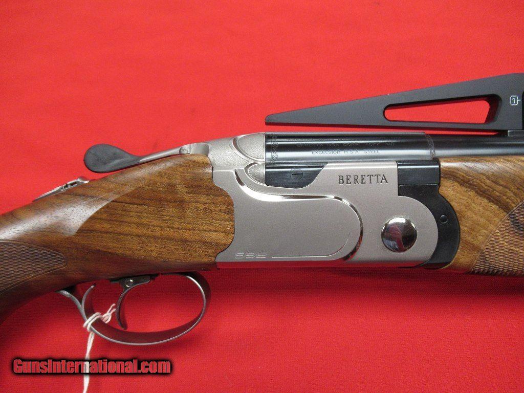 """Beretta 692 Unsingle Trap 12ga/34"""" Optima HP Chokes (NEW) - 1 ..."""