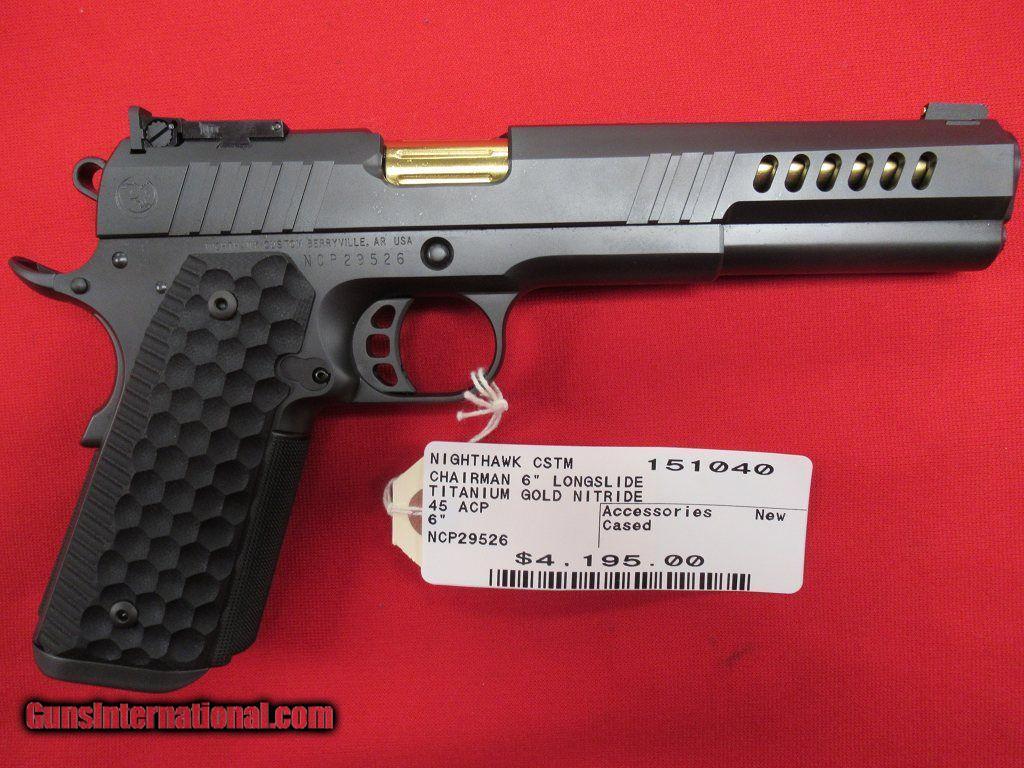 New Handgun: Chairman 6 Pistol from Nighthawk Custom