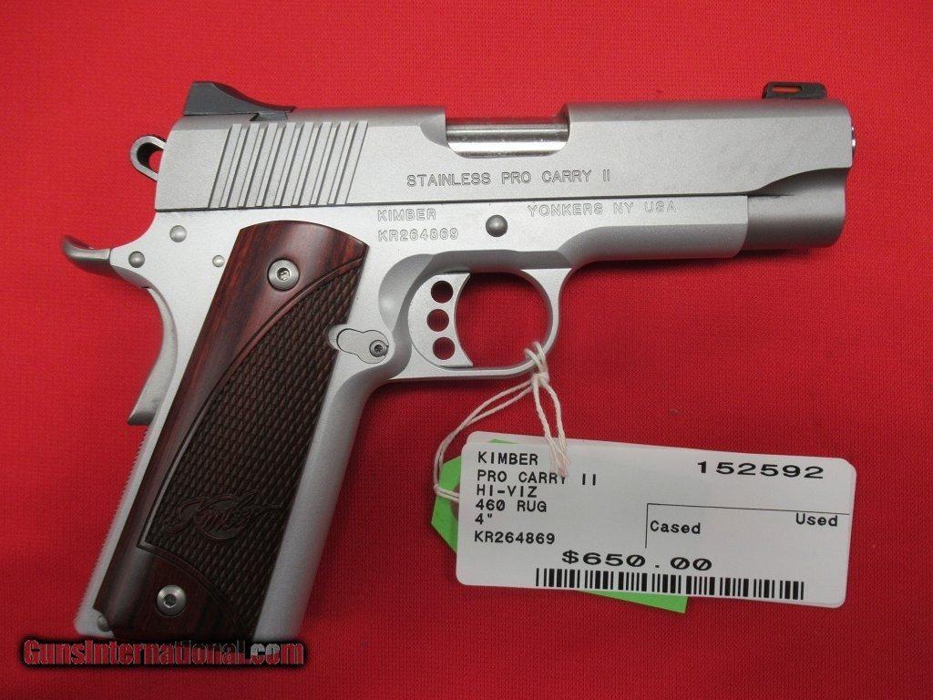 Kimber Pro Carry II 45acp 4