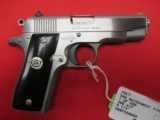 """Colt 380 Government 1st Edition Stainless """"1 of 500"""" 380acp 2 3/4"""" (LNIC)"""