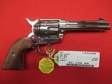 "Colt SAA 3rd Gen Nickel 357 Mag 4 3/4"""
