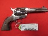 """Colt SAA 3rd Gen Nickel 44 Special 4 3/4"""""""