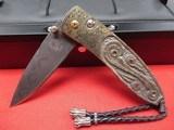 William Henry Knife B05 Golden Rose - 1 of 4