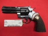 "Colt Python 357 Magnum 4"" w/ Box - 2 of 3"