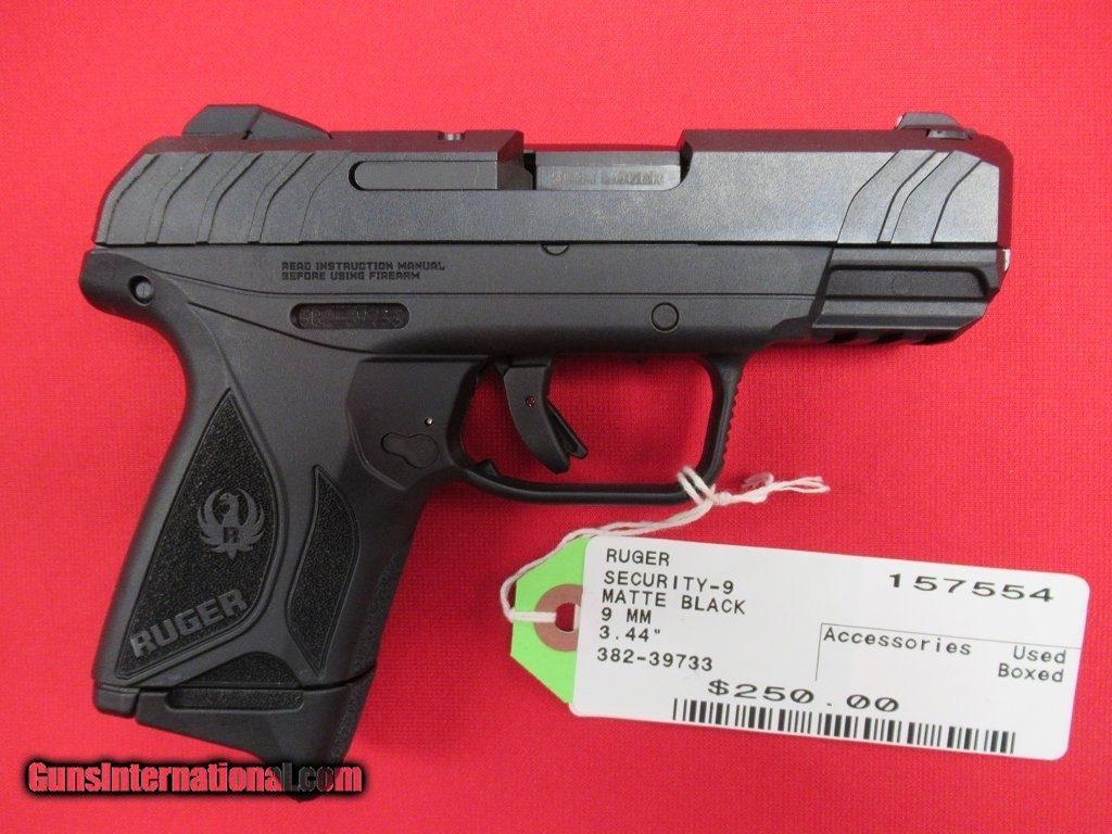 Ruger Security-9 9mm 3 44