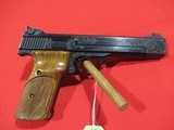 "Smith & Wesson Model 41 Target 22LR 5.5"" Custom Engraved"
