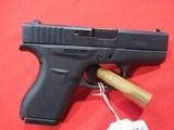 "Glock Model 42 380 ACP/3.26"" (NEW)"