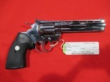 """Colt Python Bright Stainless 357 Mag/6"""" (USED)"""