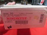 """Winchester Model 70 Classic Stainless Custom 270 Win/24"""" Tom Smith Stock - 15 of 15"""