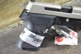 Sig Sauer P224 Nickel 40 S&W New - 2 of 7