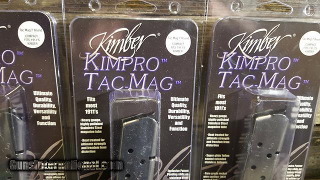 Kimber 1911 KimPro Tac-Mag 7 Round .45 ACP Compact Magazine 1100813 mag 3