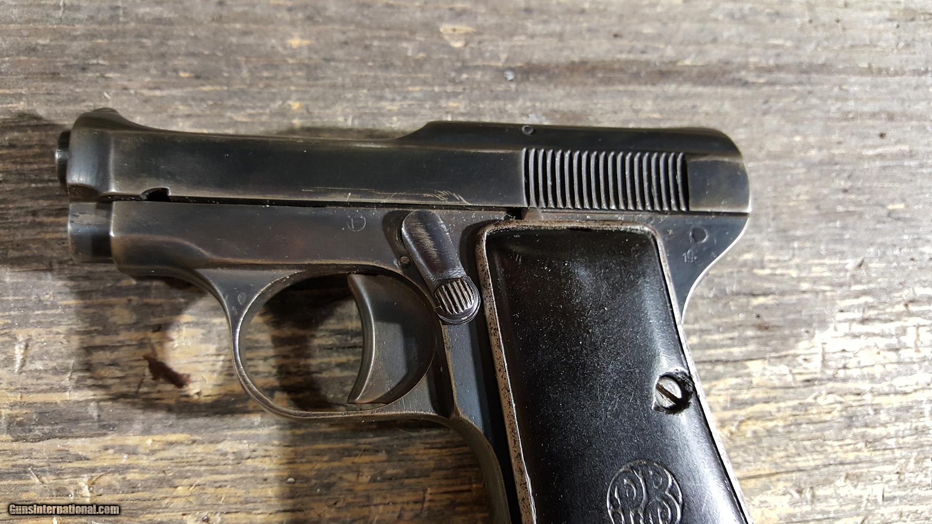 Beretta 418 25 ACP