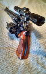 Smith&Wesson model 27-2 83/8 INCH BARREL WITH LEUPOLD SCOPE - 8 of 12