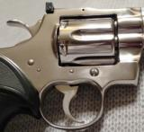COLT PYTHON .357 MAGNUM WITH 8 INCH BRIGHT STAINLESS STEEL FINISH WITH CASE - 12 of 20