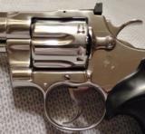 COLT PYTHON .357 MAGNUM WITH 8 INCH BRIGHT STAINLESS STEEL FINISH WITH CASE - 11 of 20