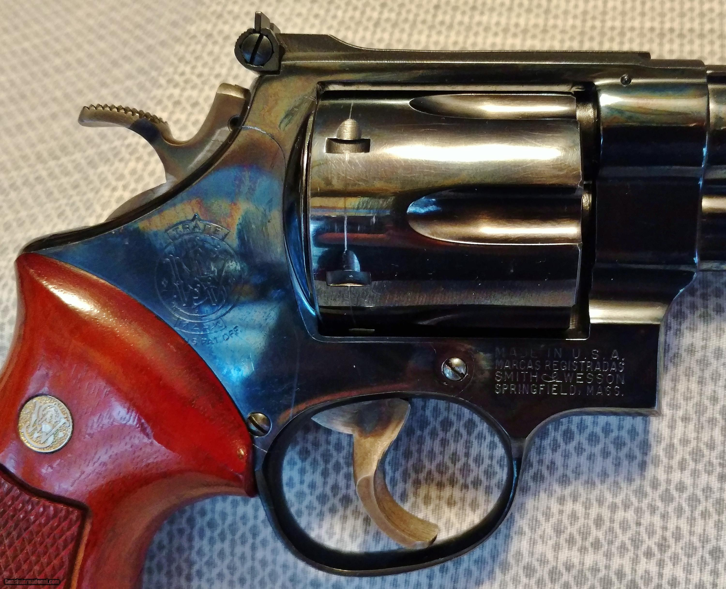 Smith Wesson Model 57 41 Magnum With S Serial Number And Box