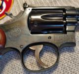 SMITH & WESSON MODEL 18-2 22 LR DIAMOND GRIPS - 11 of 20