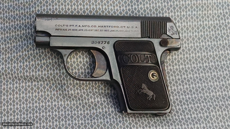 colt 1908 25 caliber