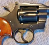 COLT OFFICERS MODEL MATCH TARGET REVOLVER .22 LR - 10 of 18